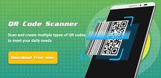 تنزيل برنامج QR Code Scanner Pro - Smart & Fast  - برنامج ماسح ضوئي بسيط وذكي لنظام الاندرويد Barcode Scanner App, Qr Code Scanner, User Interface, Android, Coding, Google Play, Simple, Programming