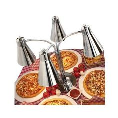 Buffet Enhancements Multi-Flex Stainless Steel Quad Heat Lamp