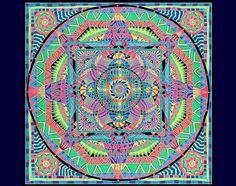 UV Banner : Kaleidoscope Mandala http://www.spacetribe.com/shop/deco-large-uv-banners-c-278_30.html