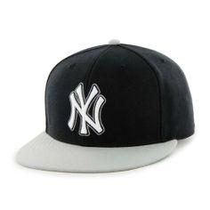 72b1e80e853 MLB New York Yankees Two-Tone Backscratcher Snapback Cap Black by  47 Brand.