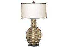 """Marais Lamp 18"""" x 32.5"""" high Silver MAS-800-807"""