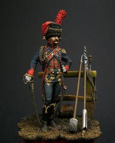 Artigliere di un rgt. di artiglieria a cavallo francese
