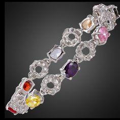 New Gorgeous 18k Gold Plated Beautiful Bracelet