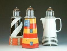 Aldo Rossi coffe pot designs