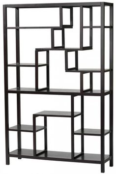 Parsons Display Shelf  Display Important Memories and Decorative Items on This Eclectic Display Shelf  Item # 08045