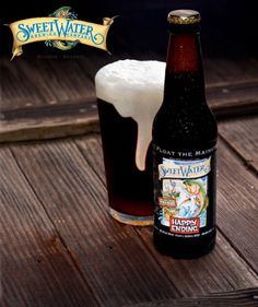 Happy Ending (a full figured beer resulting in an explosive finish!) - SweetWater Brewing Company