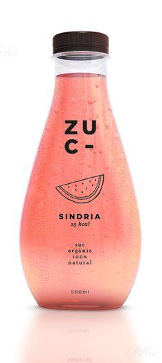 /// ZUC By Miriam Villaplana #packaging #watermelon #pink