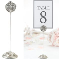 Vintage Table Number Holders