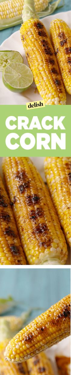 The most addictive way to eat grilled corn.