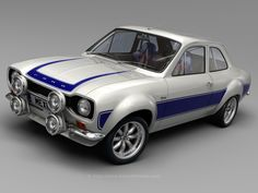 Ford Escort Mk1......eeeek! Obviously not a VW, but tooooo cooooool not to pin so it had to go somewhere!!