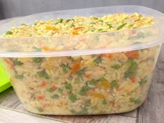 Rizoto se zeleninou a masem Macaroni And Cheese, Vegetables, Ethnic Recipes, Food, Mac And Cheese, Vegetable Recipes, Eten, Veggie Food, Meals
