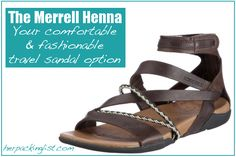 Merrell Henna sandals: Solving my travel shoe dilemma