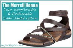 Merrell Henna sandals: Solving my travel shoe dilemma