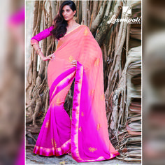 Look awesome at an any occasion by wearing the saree. Make a statement by donning this stylish saree. Rich in material and of pure ethnic essence, this saree will be a collector's item in your fabulous collection. Get it now! ‪#‎Catalogue‬ ‪#‎GURJARI‬ Visit for more designs@ www.laxmipati.com ‪#‎ReadyToWear‬ ‪#‎OccasionWear‬ ‪#‎Ethnicwear‬ ‪#‎Fashion‬ ‪#‎GURJARI0816‬ ‪#‎FestivalSarees‬ ‪#‎RakshaBandhan‬ ‪#‎Couture‬ Occasion Wear, Special Occasion, Stylish Sarees, Daily Wear, Bridal Collection, Kurti, Latest Fashion, Catalog, Ethnic