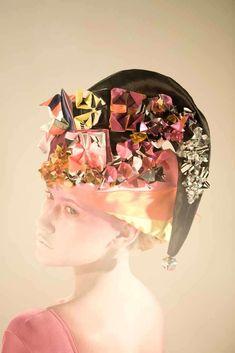 Futuristic Origami Accessories: Fred Butler's Fantasy Headwear and Jewelry