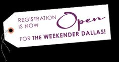 Registration is now OPEN for The Weekender Dallas event at the W Hotel - Victory Park. Luxury that will leave you breathless. #luxi #luxiexperience #theweekender www.theluxiexperience.com