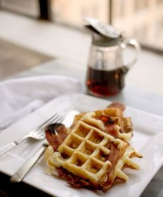 Bacon and waffles*