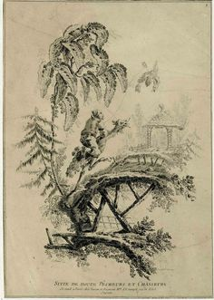A collection of prints by Jean Pillement, published in 1767. Pillement was one of the most important artists of Chinoiserie, a style preferred by the French court that used oriental motifs as a starting place for laconic landscapes and fantastic architectures that floated on clouds of opium smoke. Pillement was a prolific artist who worked all over Europe, including England, Spain, Portugal, Poland, Austria, and of course France, where he painted for Marie Antoinette in the Petit Trianon…