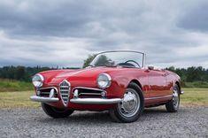 Alfa Romeo Giulietta Spider, Alfa Romeo Spider, Road Rally, Side Window, Red Interiors, Dream Life, Motor Car, Cars For Sale, Redmond Washington