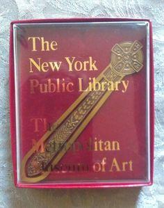 VINTAGE Metropolitan Museum of Art King Arthur's Sword Brass Book Mark #MetropolitanMuseumofArtNewYork