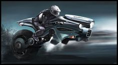 PC Wallpaper Futuristic Motorcycle, Sci-fi, Digital Art for Desktop / Mac, Laptop, Smartphones and tablets with different resolutions. Wallpaper Science, Hd Wallpaper, Wallpapers, Image Moto, Science Fiction, Hover Bike, Monocycle, Futuristic Motorcycle, Concept Motorcycles