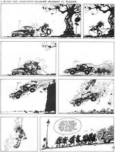 Les Idées Noires de Franquin, un livre de chevet... ici : le triple suicide
