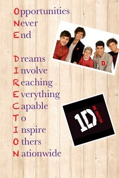 Awesome one direction poem!