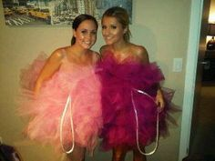 loofah halloween costume! easy idea!