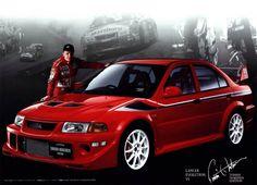 Mitsubishi Lancer Evolution www.glracing.fr
