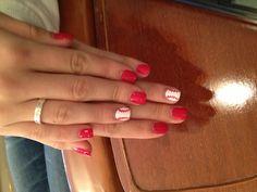 Baseball nails! In orange please