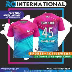 Sport Shirt Design, Sports Jersey Design, Sport T Shirt, Team Names, Polo T Shirts, Sport Wear, Sport Outfits, Shirt Designs, Sport T Shirts