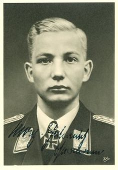 ✠ Max-Helmut Ostermann (11 December 1917 – 9 August 1942) killed in aerial combat with Soviet fighters southeast of Lake Ilmen.