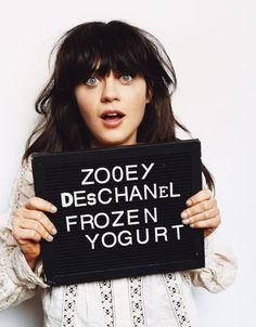 there is something a little spooky about Zooey..but in a fascinating way. I…