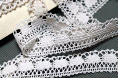 Items similar to Vintage cotton lace trim from USSR – Cotton - White Lace – ( 19 mm ) - By the Yard on Etsy Vintage Cotton, Cotton Lace, White Cotton, White Lace, No Frills, Lace Trim, Sewing Projects, Yard, Etsy