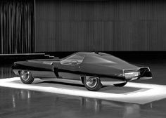 Cadillac XP-840 Eldorado Concept vehicle, 1965, a two-seat, V-16 engined mock up only.