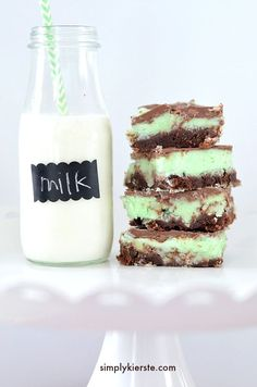 Ooey, gooey, melt-in-your-mouth delicious mint chocolate brownies are easy to make, and perfect for taking to a party, enjoying at home, or gift-giving!