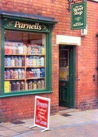 Retail Space/Display Ideas  parnells sweet shop, southwell, nottinghamshire, uk