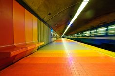 Metro Station, Montreal