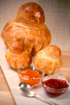 Jacques Pepin's brioche recipe. Need to make this more often for breakfast. Dough is best is made the night before and baked in the morning.
