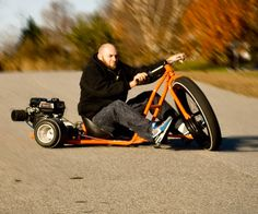 Big Wheel Drift Trike | DudeIWantThat.com