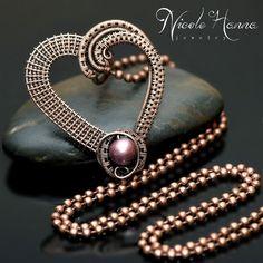 nicole hanna jewelry | Be Mine Heart Pendant