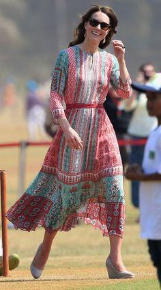 Os melhores looks de Kate Middleton | MdeMulher Mais