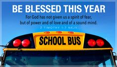 Free Be Blessed This Year eCard - eMail Free Personalized Back to School Cards Online