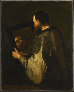Selfie de un filósofo. José Ribera 1652