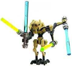 general grievous clone wars lego star wars figure jouet