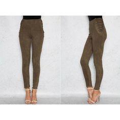 f0b48b1f924700 Lace Up High Waist Leggings - Trendsology High Fashion Trends, Fashion  Styles, Fashion Advice