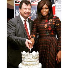 See How Omotola & Joselyn Dumas celebrated Queen Elizabeth IIs 90th Birthday in Nigeria & Ghana
