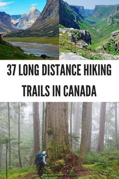 37 Long Distance & Backpacking Trails in #Canada #hiking #backpacking #longhikes #multidayhikes #longdistancehiking