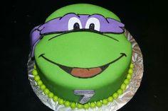 Donatello Ninja Turtle cake