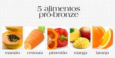 TOP 5 alimentos para dar um up no seu bronzeado: http://abr.ai/1e5flJw